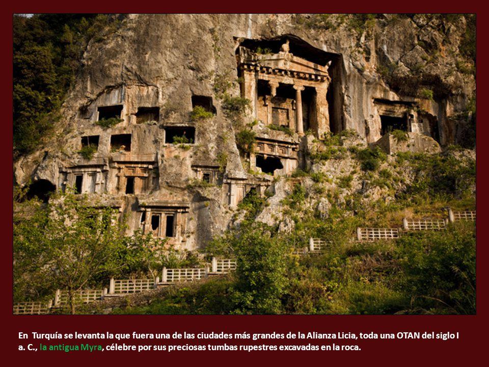 En Turquía se levanta la que fuera una de las ciudades más grandes de la Alianza Licia, toda una OTAN del siglo I a.