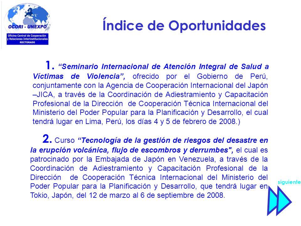 Índice de Oportunidades 2.