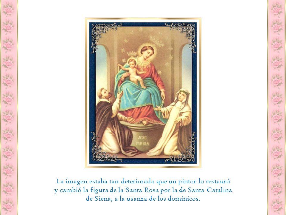 Esa misma tarde del 13 de noviembre de 1875, la imagen de la Virgen del Rosario llega a Pompeya en una carreta guiada por Ángelo Tortora.