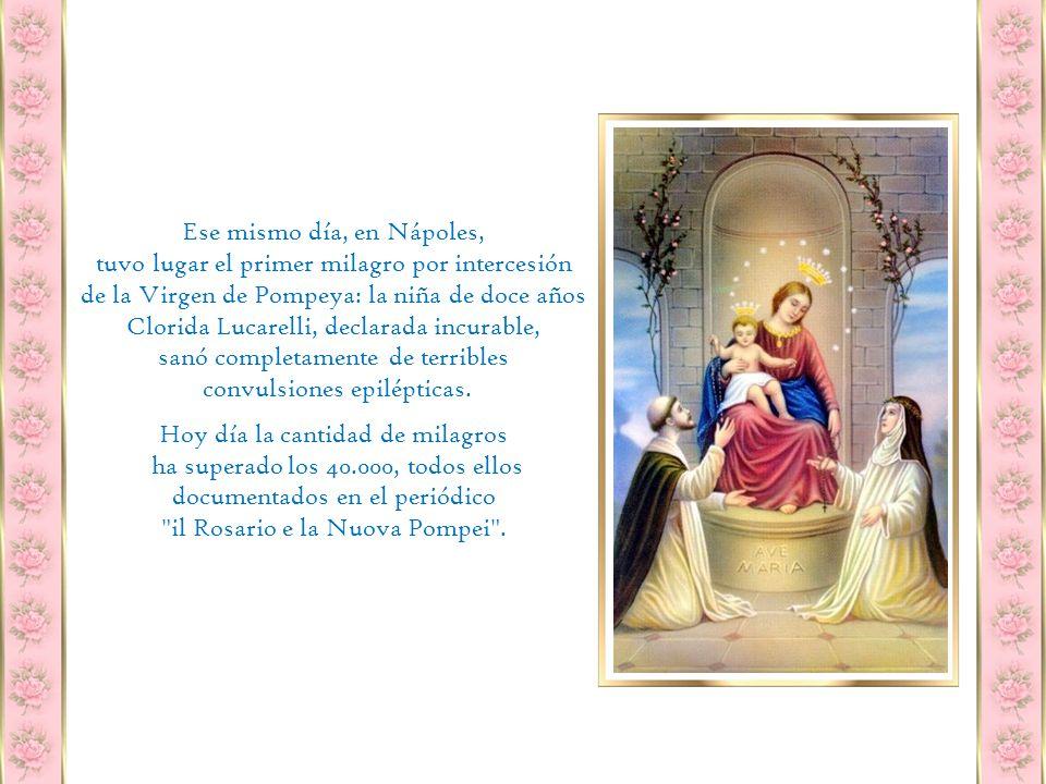 El 13 de febrero de 1876 se expuso a la veneración de los feligreses.
