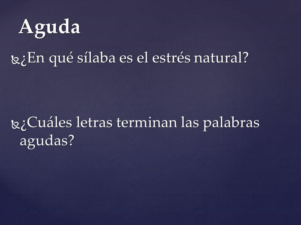 { Lingüística Día 2 ¿Cuándo se necesita una tilde