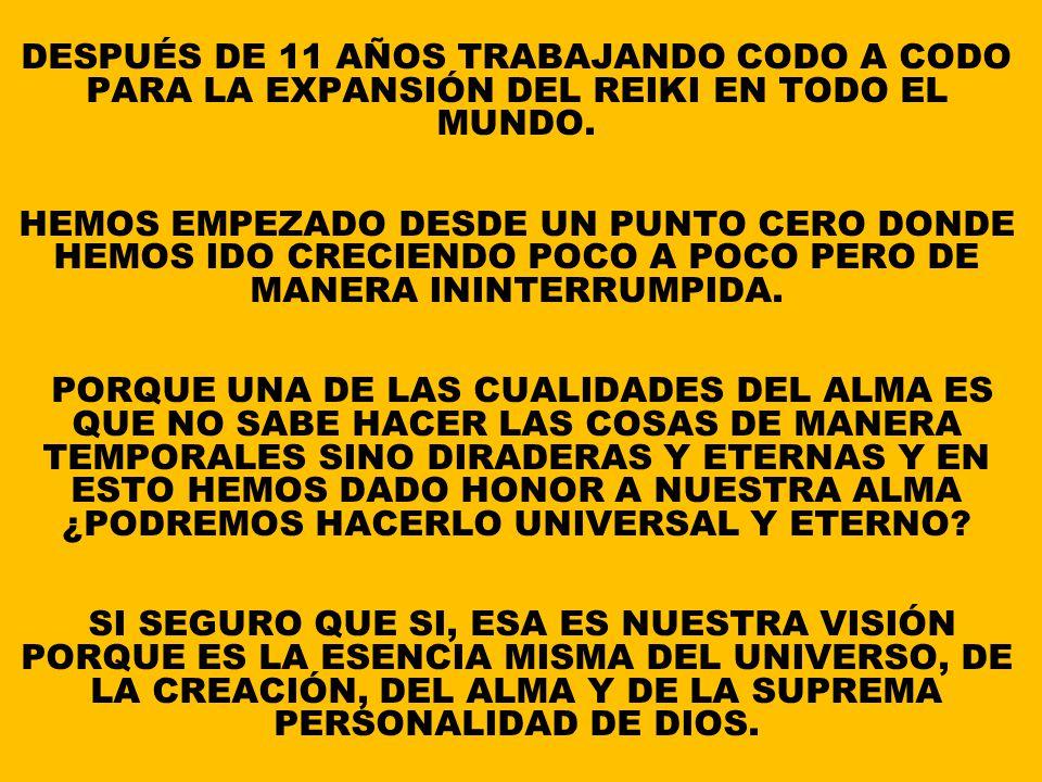AHORA TODOS LOS MASTERs REIKISTAS, AMIGO/AS Y SIMPATIZANTES, EL GRUPO REIKI ASOCIACIÓN REIKI PARADHARMAdas INTERNACIONAL LES DEJA UNOS OTROS MENSAJES
