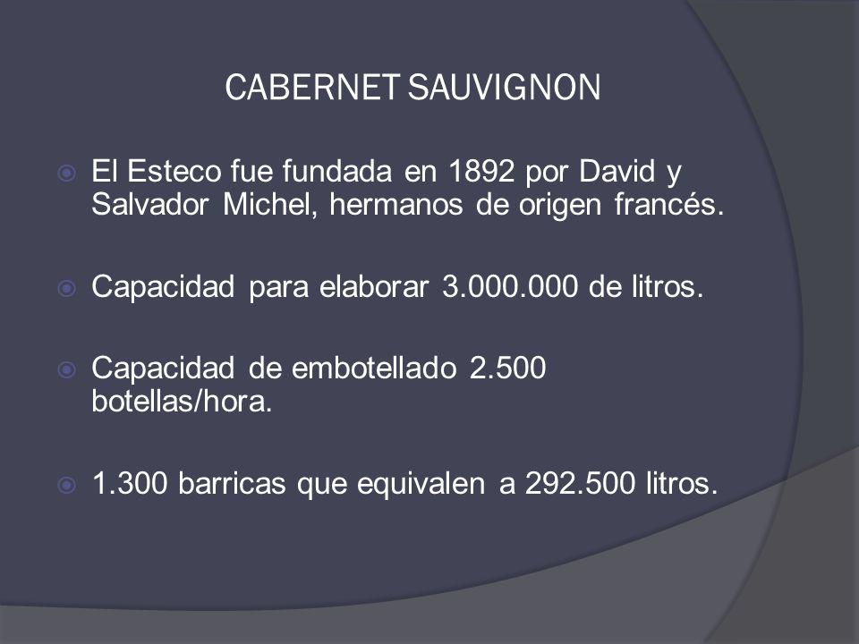  El Esteco fue fundada en 1892 por David y Salvador Michel, hermanos de origen francés.