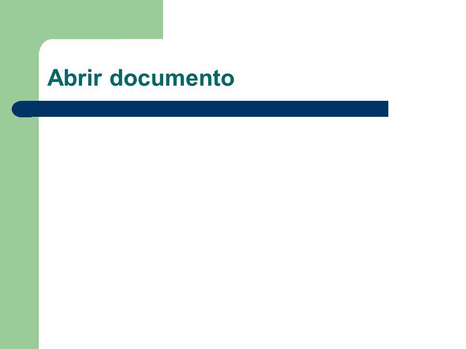 Abrir documento