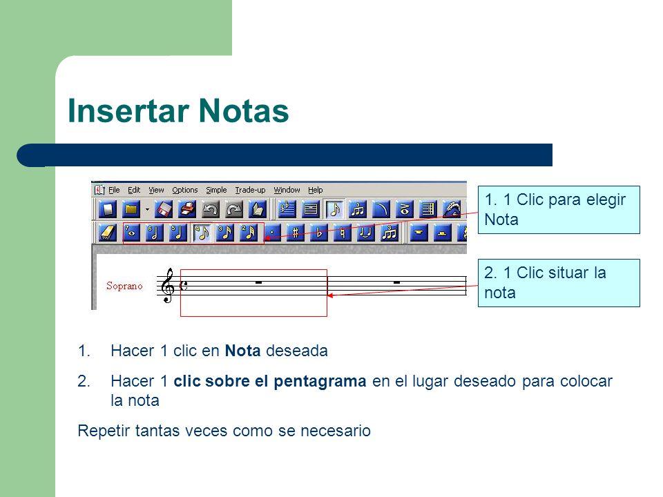 Insertar Notas 1.