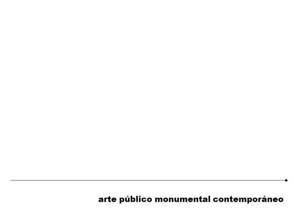arte público monumental contemporáneo