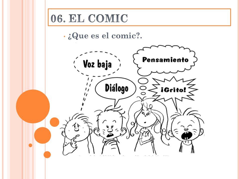 ¿Que es el comic . ¿Únicamente ocio . Los personajes. Recurso semiótico.