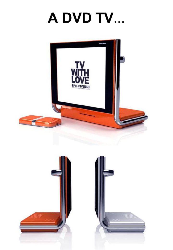 A DVD TV...
