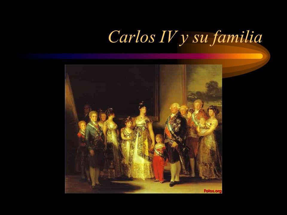 Carlos IV y su familia