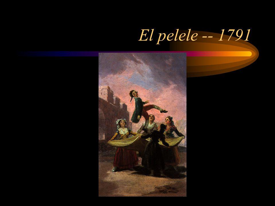 El pelele -- 1791