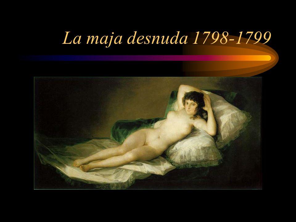 La maja desnuda 1798-1799