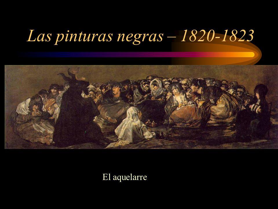 Las pinturas negras – 1820-1823 El aquelarre