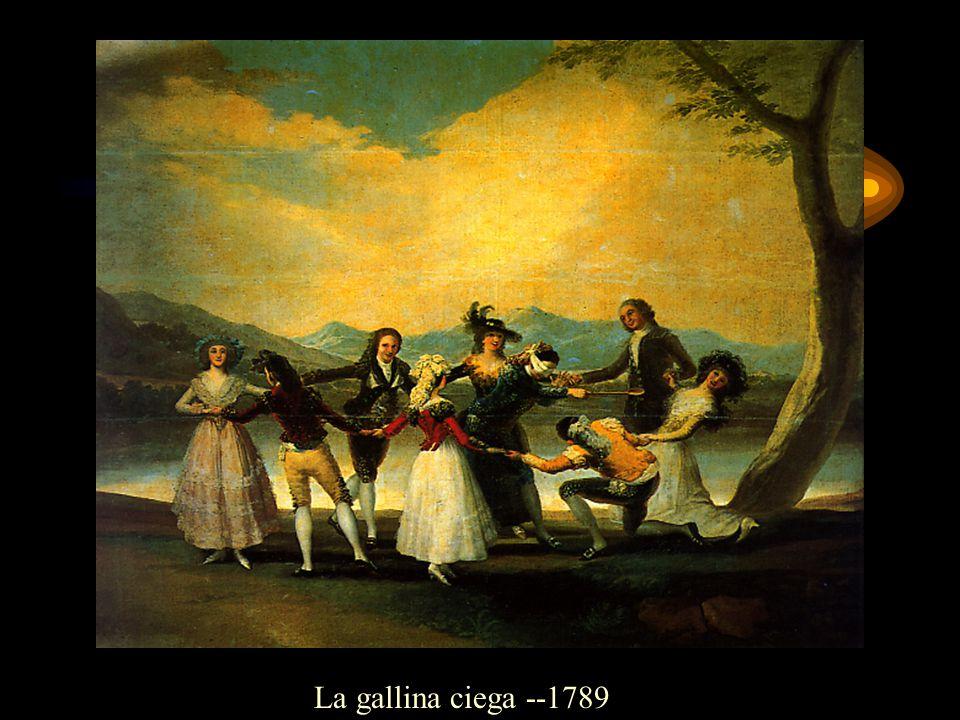 La gallina ciega --1789