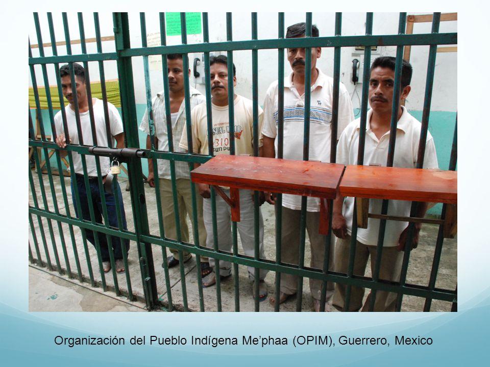 Organización del Pueblo Indígena Me'phaa (OPIM), Guerrero, Mexico
