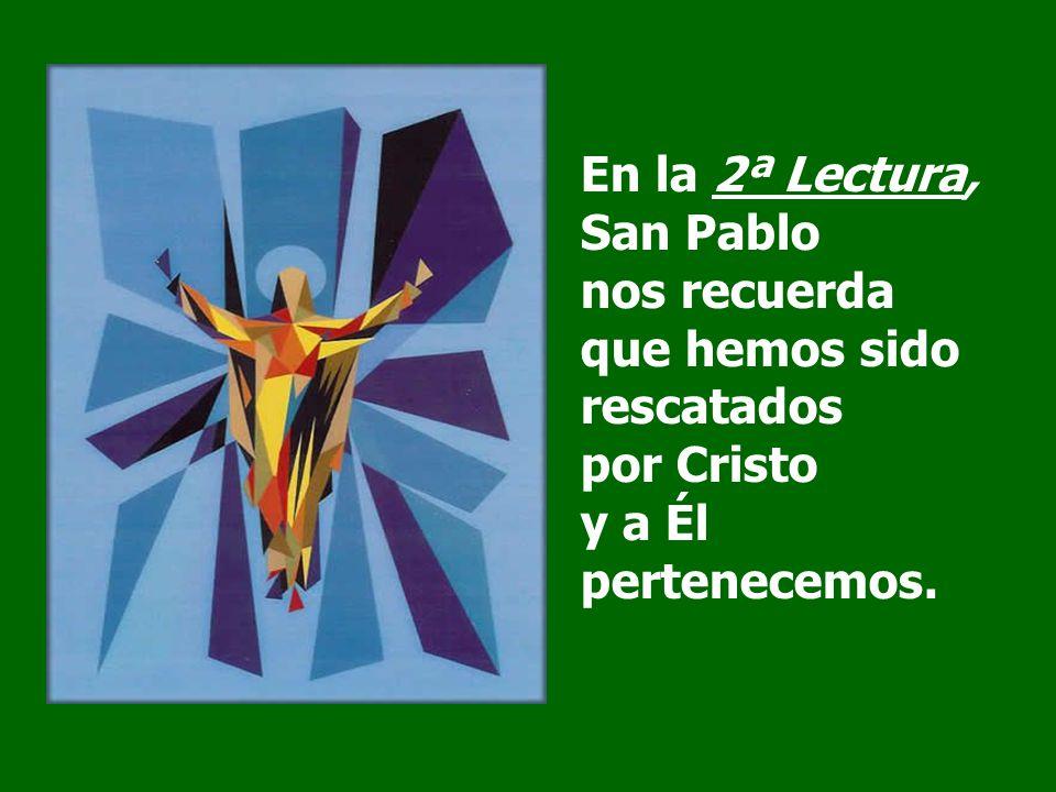 El Salmista invocó al Señor y fue atendido. Cuando te invoqué, Señor, me escuchaste