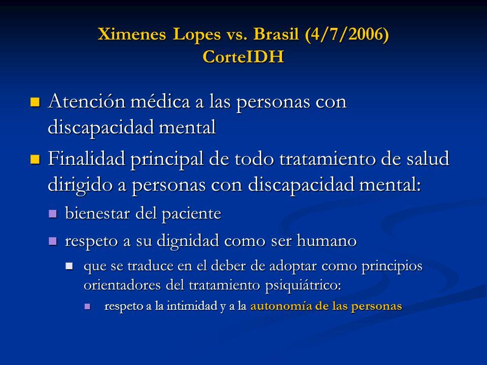 Ximenes Lopes vs.