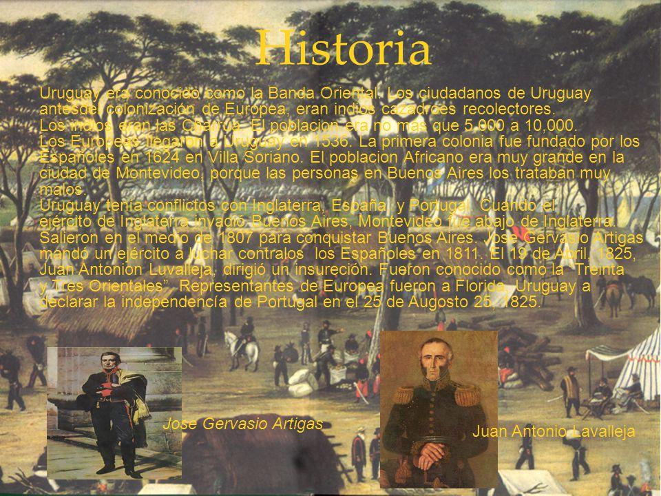Historia Uruguay era conocido como la Banda Oriental.