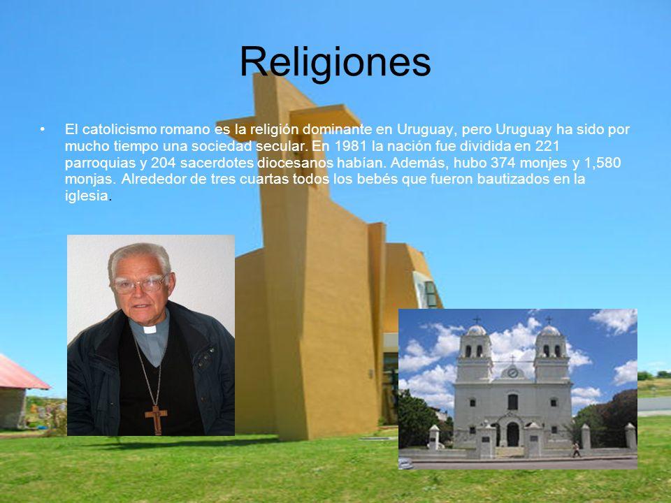 El catolicismo romano es la religión dominante en Uruguay, pero Uruguay ha sido por mucho tiempo una sociedad secular.
