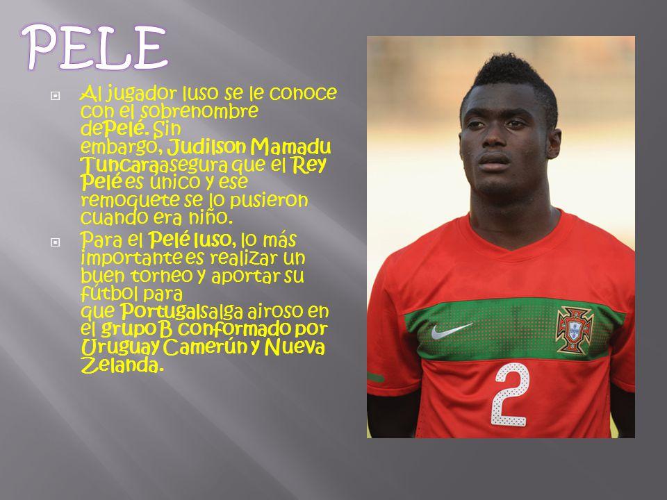  Al jugador luso se le conoce con el sobrenombre dePelé.