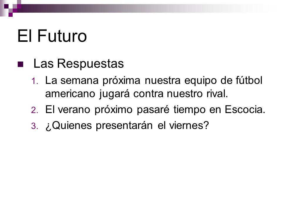 El Futuro Las Respuestas 1.