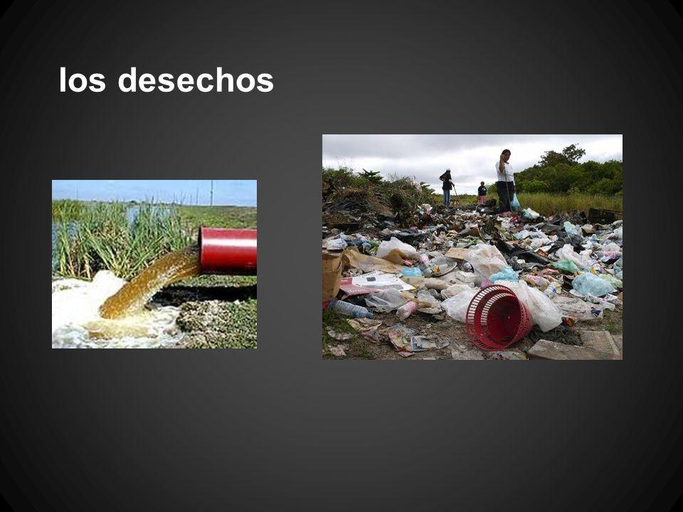 los desechos