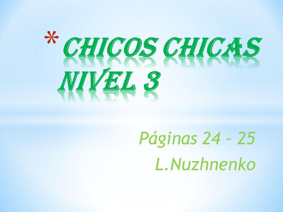 Páginas 24 – 25 L.Nuzhnenko