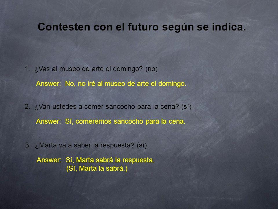 Estructura: El futuro 4.