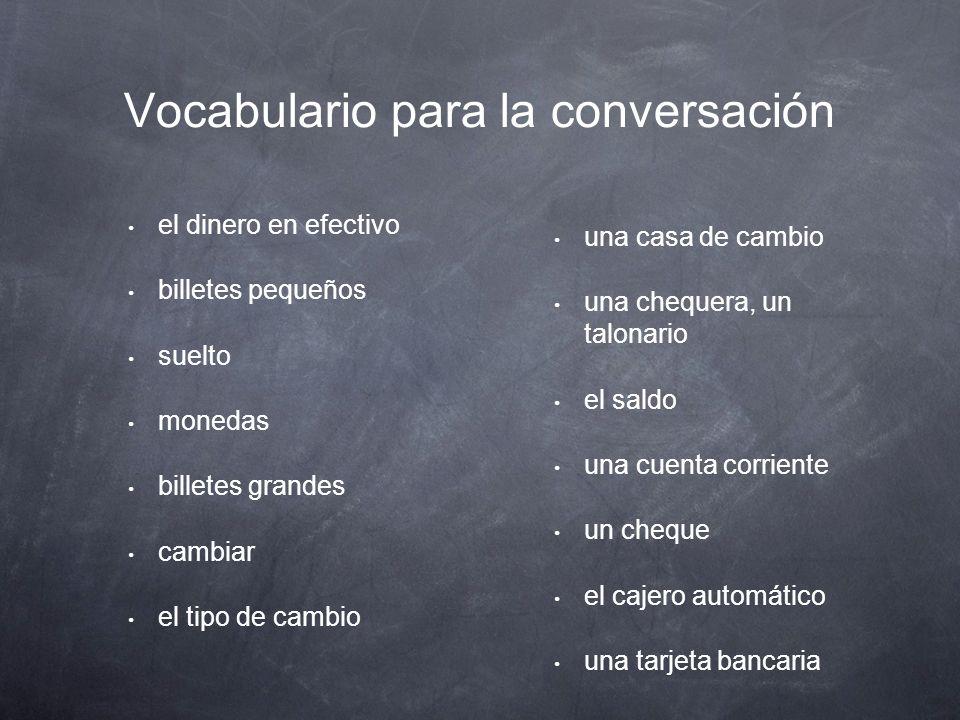 Lección 2: Conversación