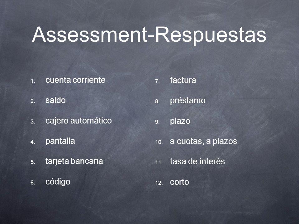 21/2 Bellringer Palabra del d í a: escriban su definición. Completen Assessment p. 192-193.