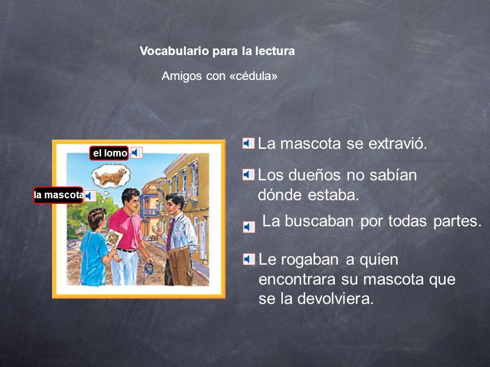 Vocabulario para la lectura Completen p. 198 Ejercicio 2. Escriban las respuestas.