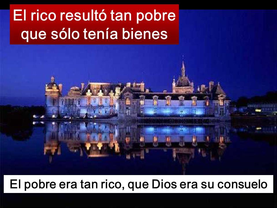 Después de la muerte, es el rico quien no puede ni mojar sus dedos en el charco Cambio de suertes, propio del evangelio de Lucas
