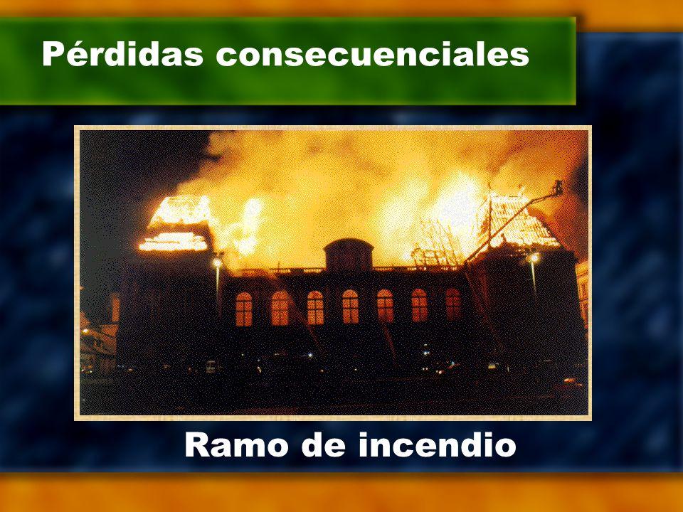 Pérdidas consecuenciales Ramo de incendio