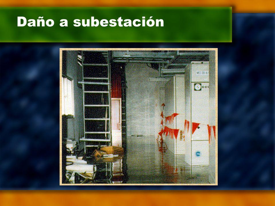 Daño a subestación