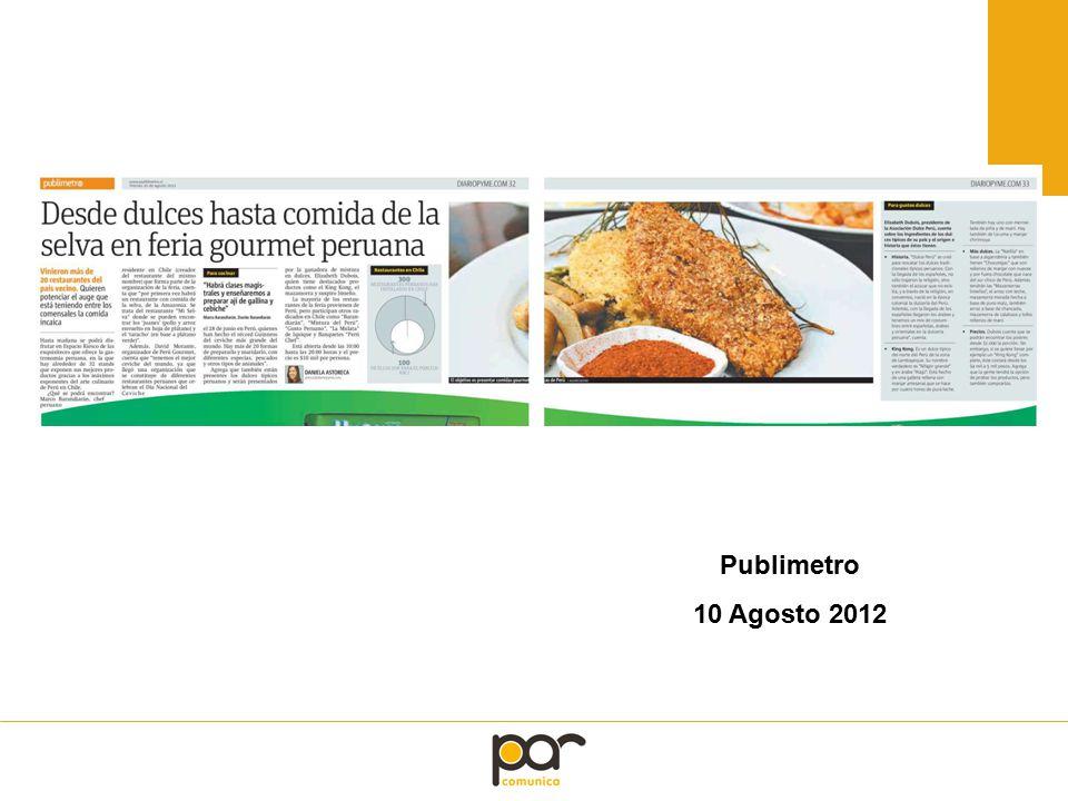 Publimetro 10 Agosto 2012