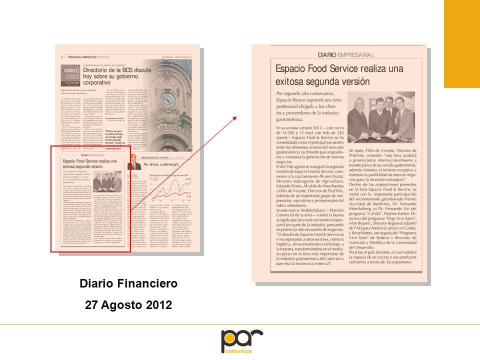 Diario Financiero 27 Agosto 2012