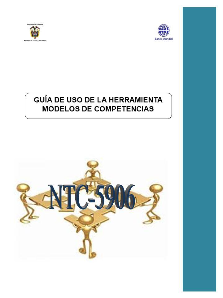 GUÍA DE USO DE LA HERRAMIENTA MODELOS DE COMPETENCIAS