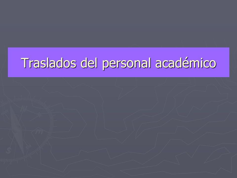 Procedimientos Administrativos en los casos del personal Docente y Administrativo (Traslados - sanciones Disciplinarias)