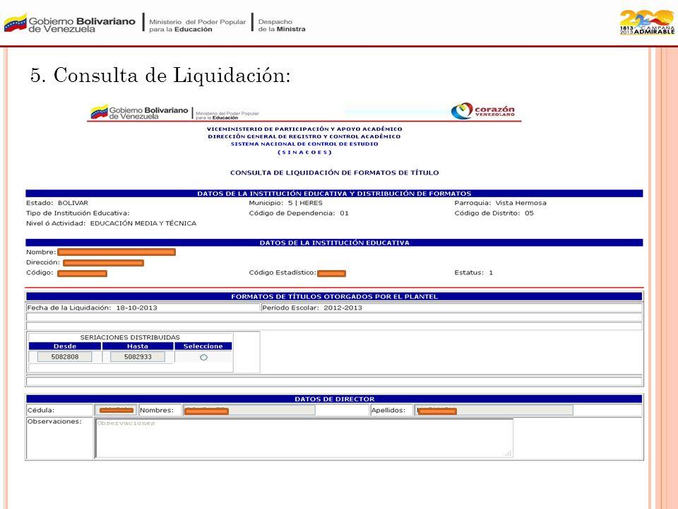 4. Consulta de Hoja de Registro: