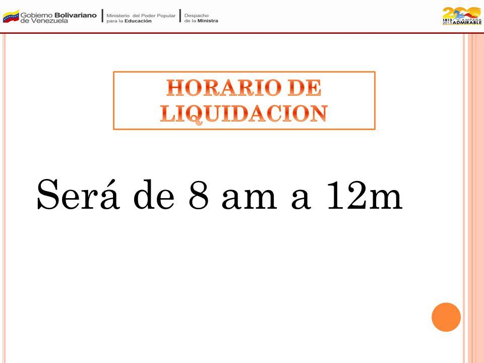 El cronograma de liquidación de títulos del Municipio Heres es el siguiente: PARROQUIASFECHA AGUA SALADANuevo Aviso CATEDRALNuevo Aviso MARHUANTANuevo Aviso LA SABANITANuevo Aviso VISTA HERMOSANuevo Aviso ZEA Y JOSE ANTONIO PAEZNuevo Aviso ORINOCO Y PANA PANANuevo Aviso