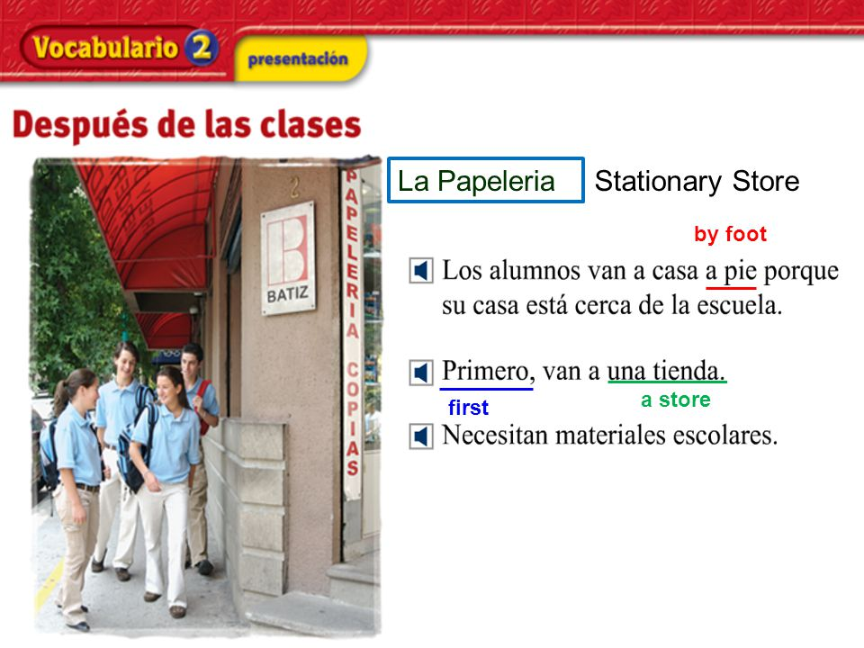 La Papeleria Stationary Store by foot first a store
