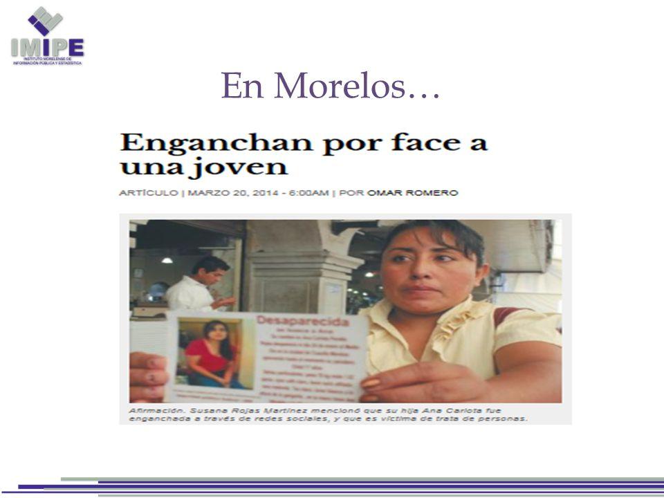 En Morelos…