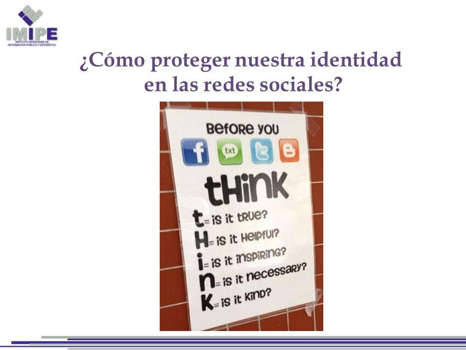 ¿Cómo proteger nuestra identidad en las redes sociales