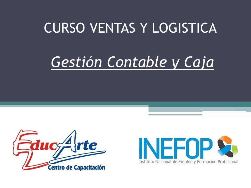 CURSO VENTAS Y LOGISTICA Gestión Contable y Caja