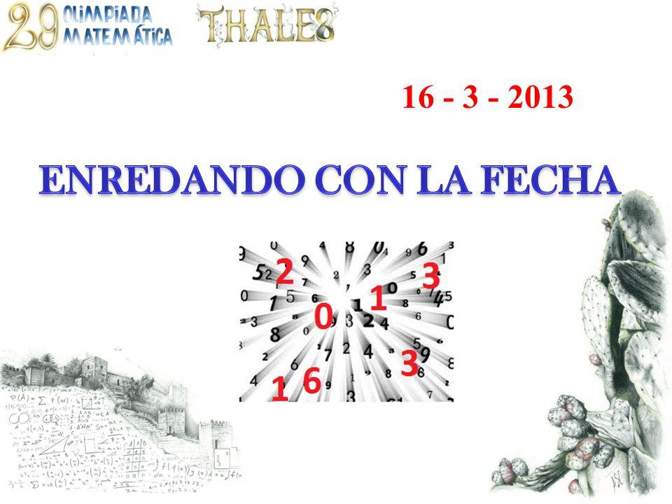 16 - 3 - 2013
