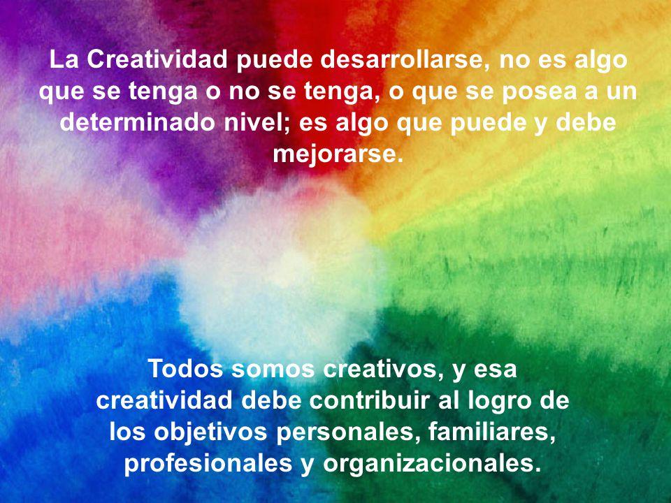 Acostumbramos asociar a la Creatividad con las artes y especialmente con la expresión original de ideas, esto causa confusión acerca de la importancia que realmente tiene en la vida de las personas.