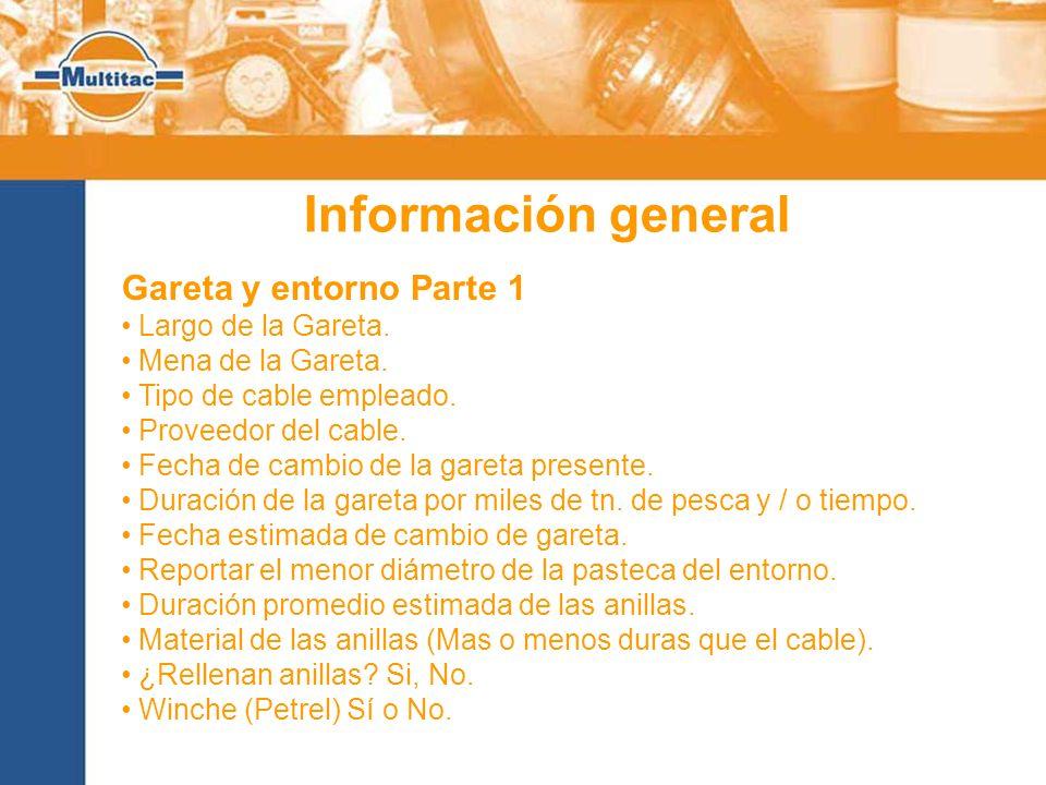Información general Gareta y entorno Parte 1 Largo de la Gareta.