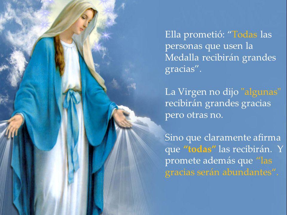 Era la Medalla Milagrosa de Nuestra Señora de las Gracias