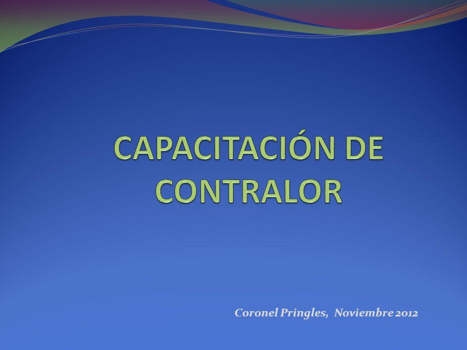 Coronel Pringles, Noviembre 2012