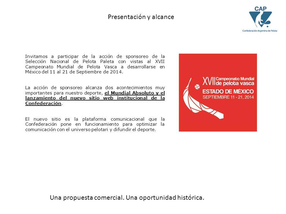 Invitamos a participar de la acción de sponsoreo de la Selección Nacional de Pelota Paleta con vistas al XVII Campeonato Mundial de Pelota Vasca a desarrollarse en México del 11 al 21 de Septiembre de 2014.
