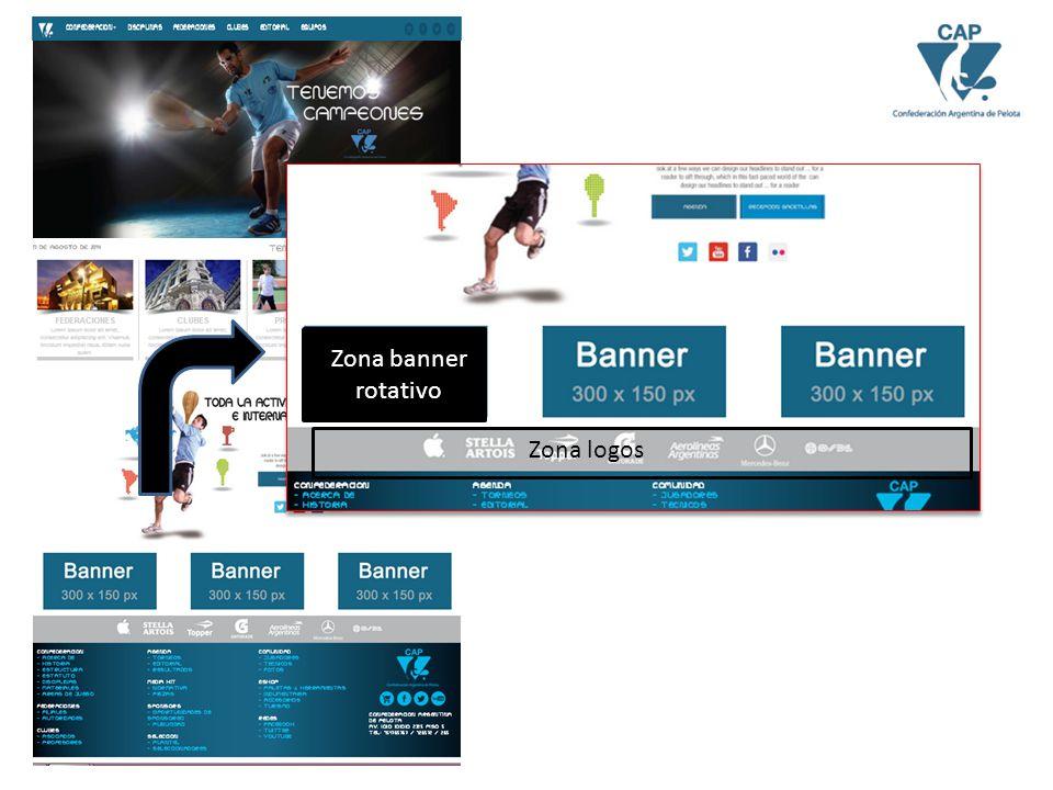 Zona logos Zona banner rotativo